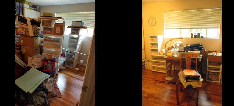 Ginger's craft room